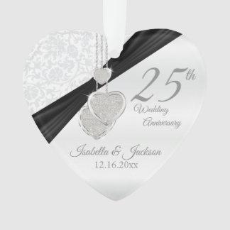 25ème Conception de souvenir d'anniversaire de