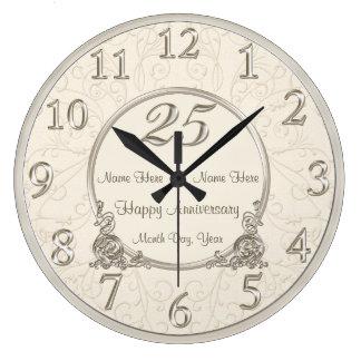 25ème L'anniversaire de mariage synchronise la Grande Horloge Ronde