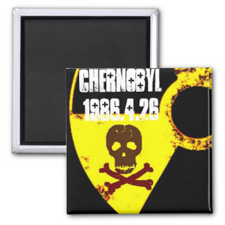 25ème mémorial d'année de Chernobyl Aimant