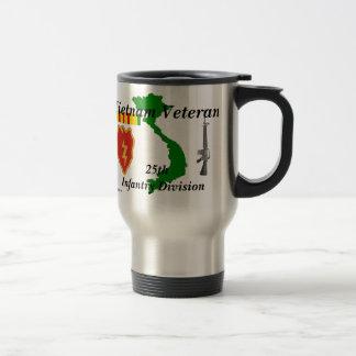 25ème Vétérinaire tm/1 de division Vietnam de FNI Mug De Voyage