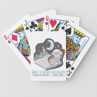 26 février - dites un jour de conte de fées jeux de cartes