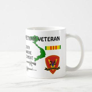 26ème tasse de café de vétéran du Vietnam de