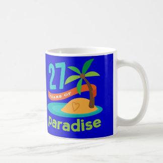27ème Cadeau drôle d'anniversaire de mariage pour Mug