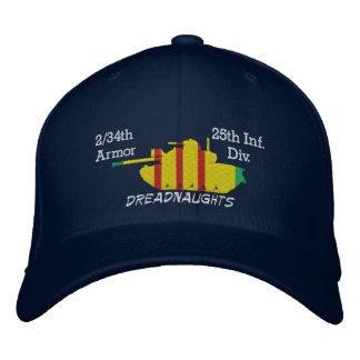 2/34th Armure 25èmes FNI. Division. Casquette Casquette Brodée