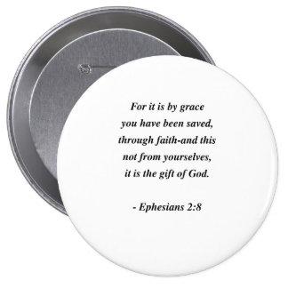 2:8 d'EPHESIANS Badge