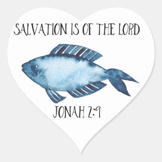 2:9 de Jonas Sticker Cœur