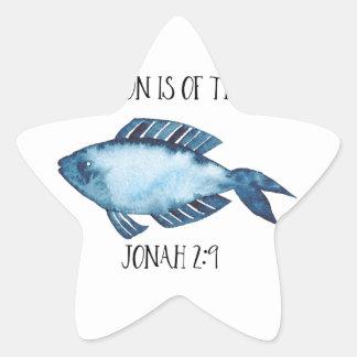 2:9 de Jonas Sticker Étoile