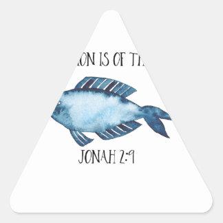 2:9 de Jonas Sticker Triangulaire