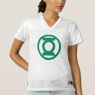2 a dégrossi le logo vert | de lanterne ajoutent maillot de foot pour femmes