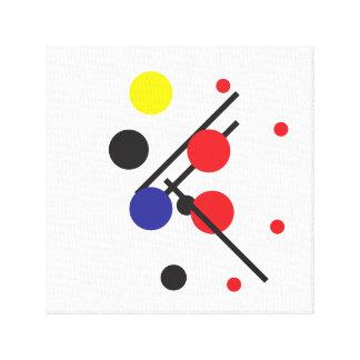 #2 de peinture géométrique moderne toile