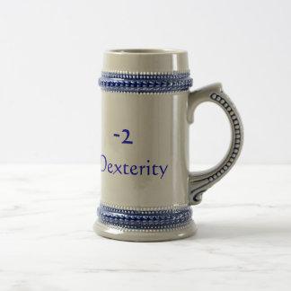 -2, dextérité tasse à café