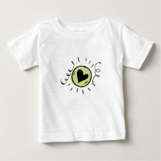 2 ensoleillés t-shirt pour bébé