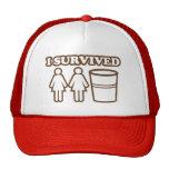 2 filles 1 tasse casquettes de camionneur