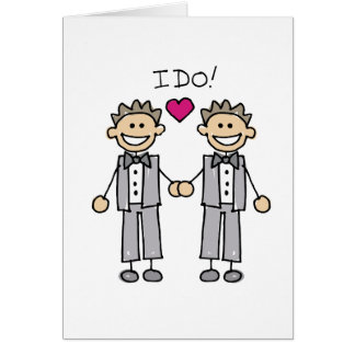 2 mariés carte de vœux