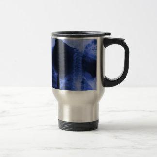 2 radiographiés - Bleu électromagnétique Mug De Voyage
