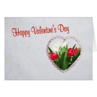 2. Souhait de Saint-Valentin pour l'un amour d'I Carte De Vœux