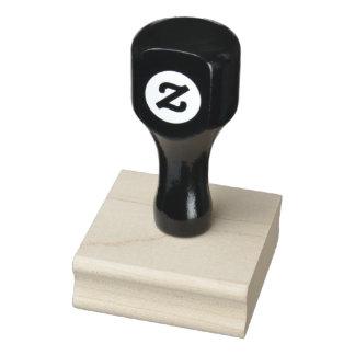 """2"""" x 2"""" timbre en bois d'art"""