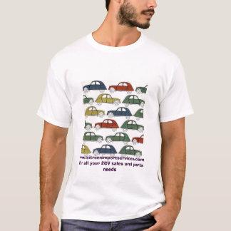2cvs, www.citroenimportservices.com pour tout t-shirt
