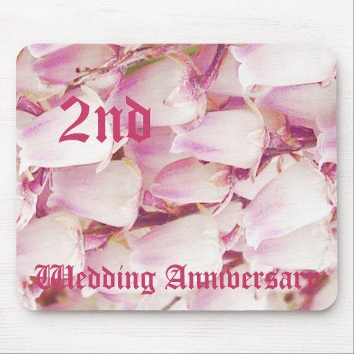 2ème anniversaire de mariage - le muguet tapis de souris