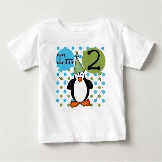 2ème anniversaire de pingouin t-shirt