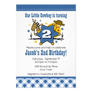 2ème invitation de fête d anniversaire de petit co