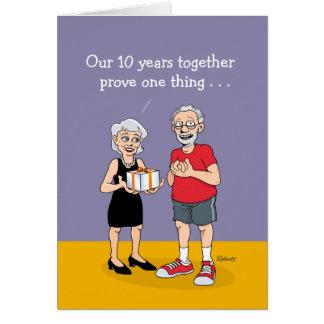 2ème Mariage : Anniversaire Cartes