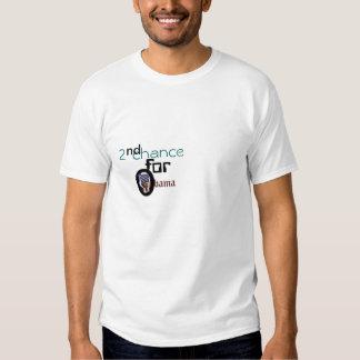 2ème occasion pour obama t-shirts