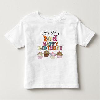 2èmes T-shirts et cadeaux d'anniversaire de jolis