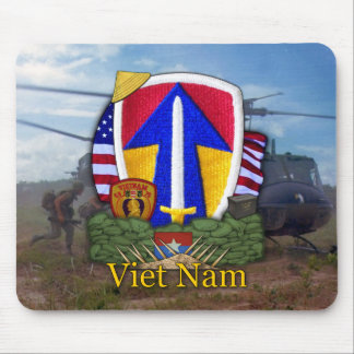 2èmes vétérinaires de combattants du Vietnam Nam Tapis De Souris