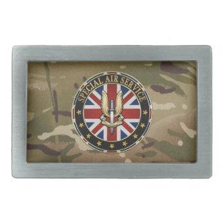 [300] Insigne de service aérien (SAS) spécial [3D] Boucle De Ceinture Rectangulaire