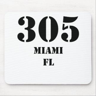 305 Miami FL Tapis De Souris