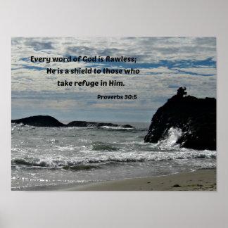 30:5 de proverbes chaque parole de Dieu est