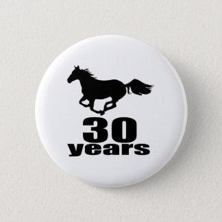 30 ans de conceptions d'anniversaire pin's