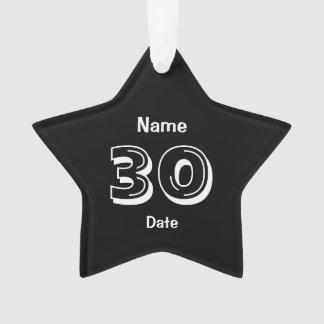 30ème Cadeau de bâillon personnalisé par