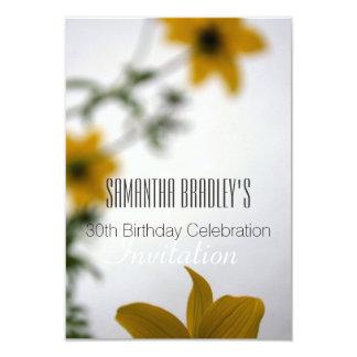 30ème Invitation florale de célébration