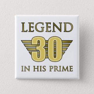 30ème Légende d'anniversaire Pin's