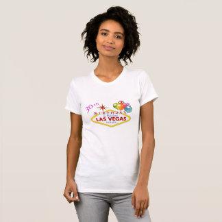 30ème T-shirt d'encolure ras du cou d'anniversaire