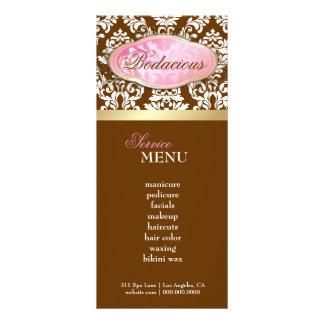 311 boutique Bodacious LoyaltyCard brun chocolat Double Carte Personnalisée