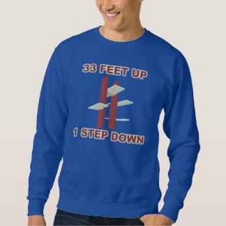 """""""33 pieds lèvent 1"""" T-shirt dévolteur de plongée"""