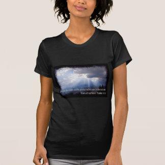 34:4 de psaumes sur l'obscurité t-shirt