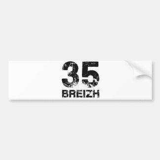 35 Breizh Autocollant Pour Voiture