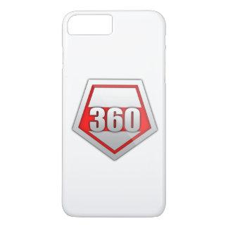360 couverture PLUS de l'iPHONE 7 de logo Coque iPhone 7 Plus
