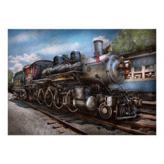385 - Train - vapeur - 385 entièrement reconstitué Cartons D'invitation