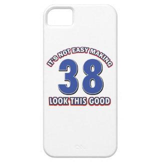 38 ans de conceptions d anniversaire iPhone 5 case