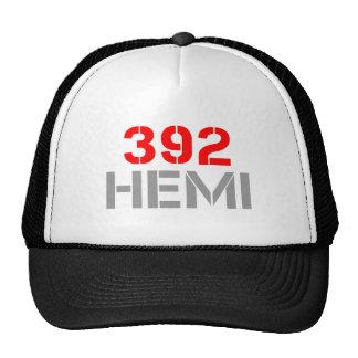392 hemi-clean-red-gray.png casquette de camionneur