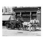 3:1911 de moteur des syndicats non carte postale