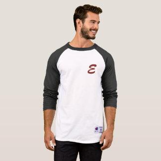 3/4 T-shirt de base-ball de douille