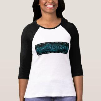 3/4 T-shirt de roche de douille avec le logo