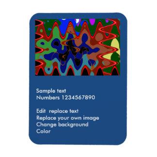 """3"""""""" aimant de la photo x4 : Cadeaux décoratifs du Magnets En Rectangle"""