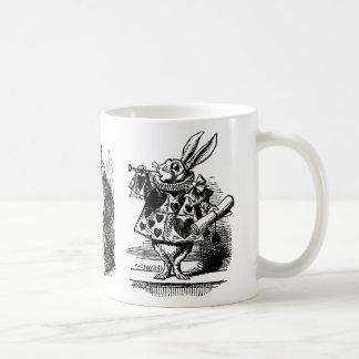 3 Alice vintage différente dans des images du pays Mug Blanc